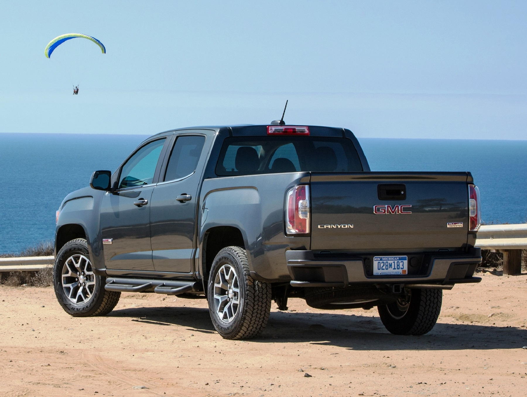 gmc canyon beefed up with duramax muscle all terrain. Black Bedroom Furniture Sets. Home Design Ideas