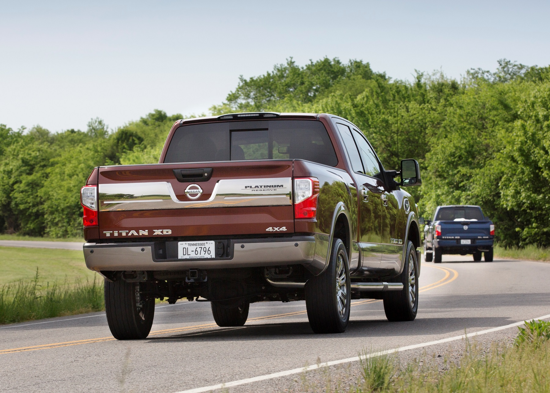 nissan titan xd platinum reserve v 8 decked in luxury With nissan titan letters