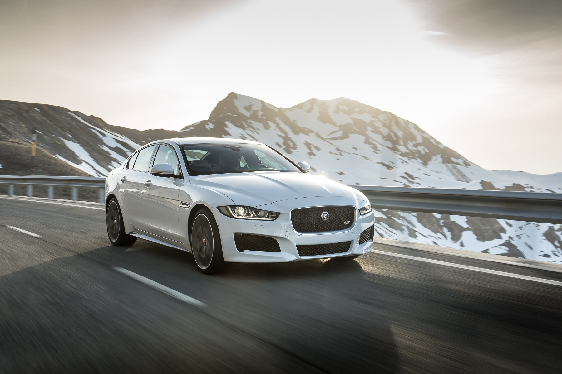 Manufacturer photo: Jaguar XE updates for 2017 include the addition of an optional torque on-demand all-wheel-drive powertrain and a host of newly available infotainment and driver assistance technologies