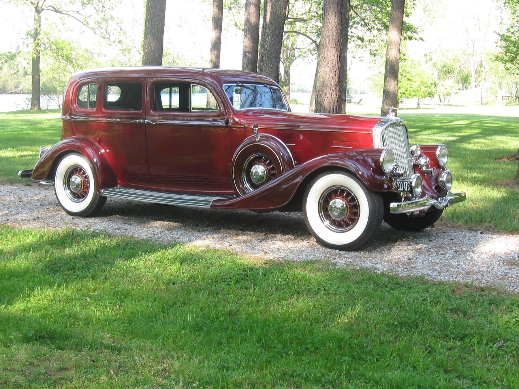 1934 Pierce-Arrow: A Luxury Limousine - Classic Classics - - GrooveCar