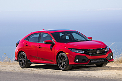 2017 Honda Civic Hatchback: Five-Door Versatility