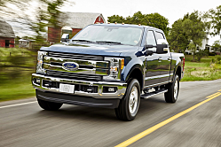 Ford F-250: Massive Capability for 2017