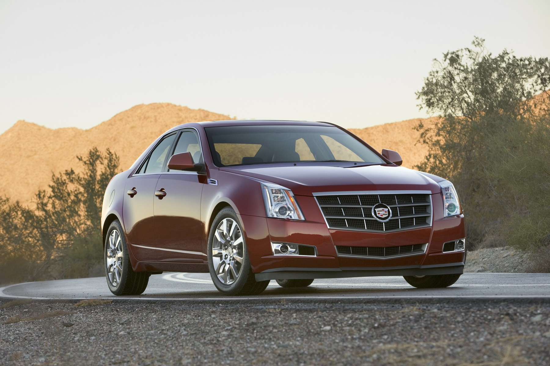 Manufacturer photo: 2009 Cadillac CTS