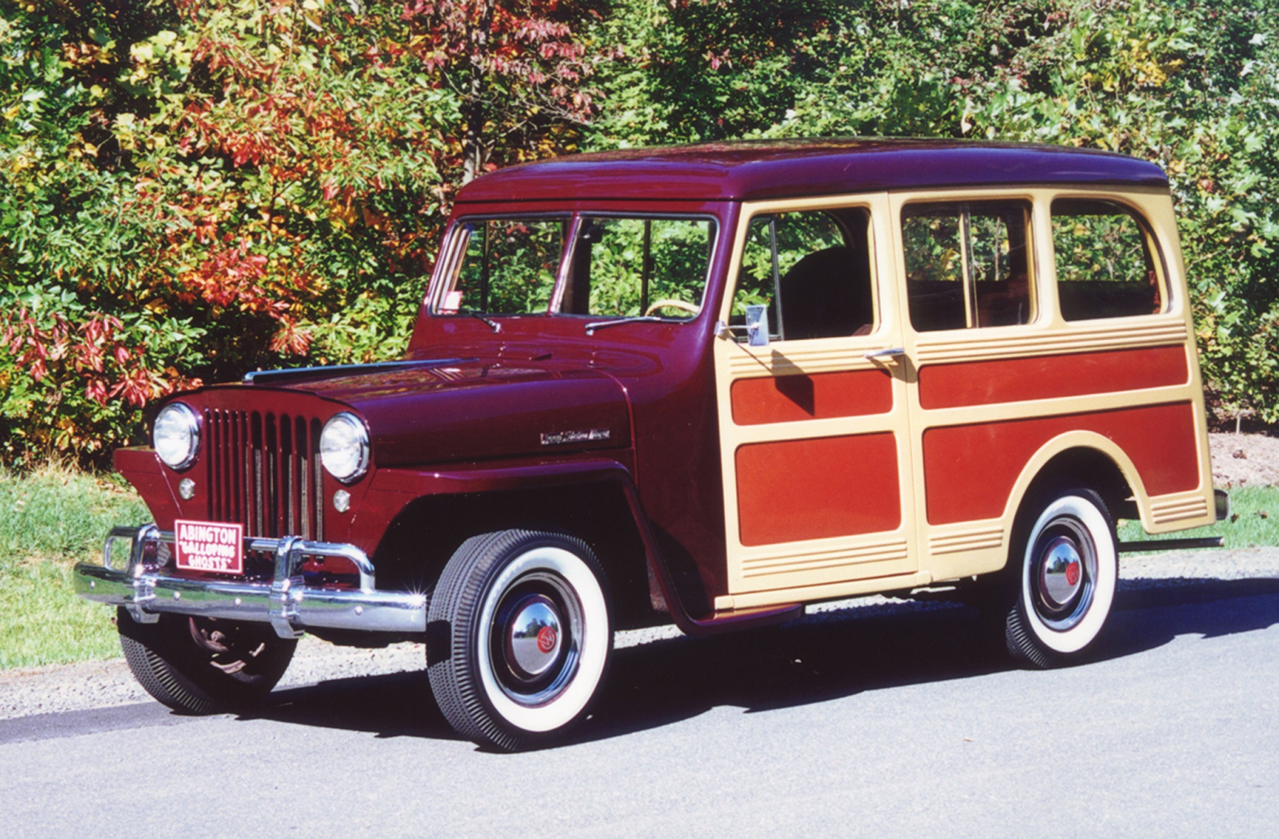 1948 Willys Jeep Wagon A Throwback To High School Classic 1953 Military The Steel Bodied Vehicle Had Nose Of And Was Powered By 134 Cubic Inch L Head Four Cylinder Engine That Produced 63 Horsepower