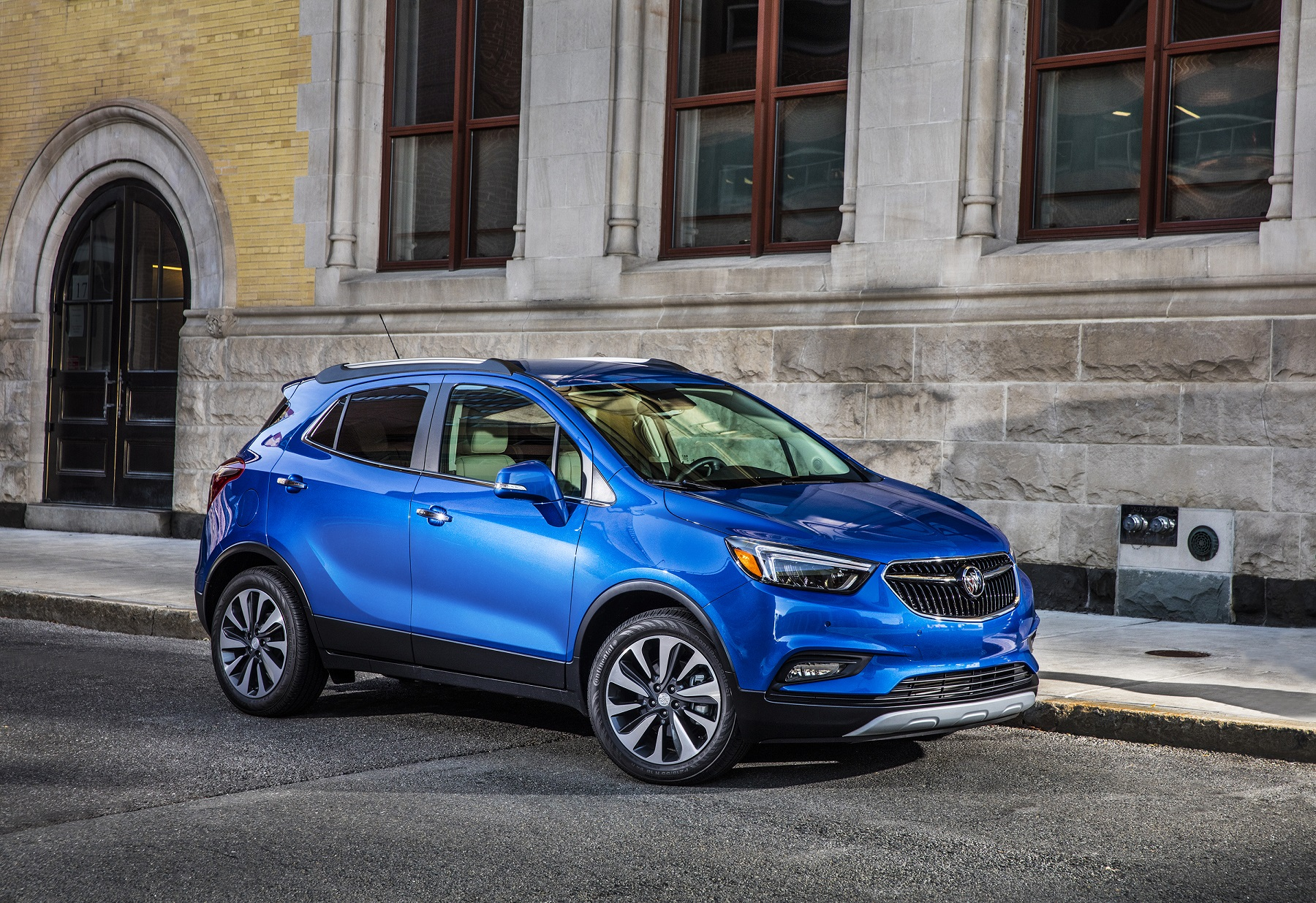 Manufacturer photo: Buick's new 2017 Encore strengthens the appeal of its small SUV with more refined styling and new connectivity technology