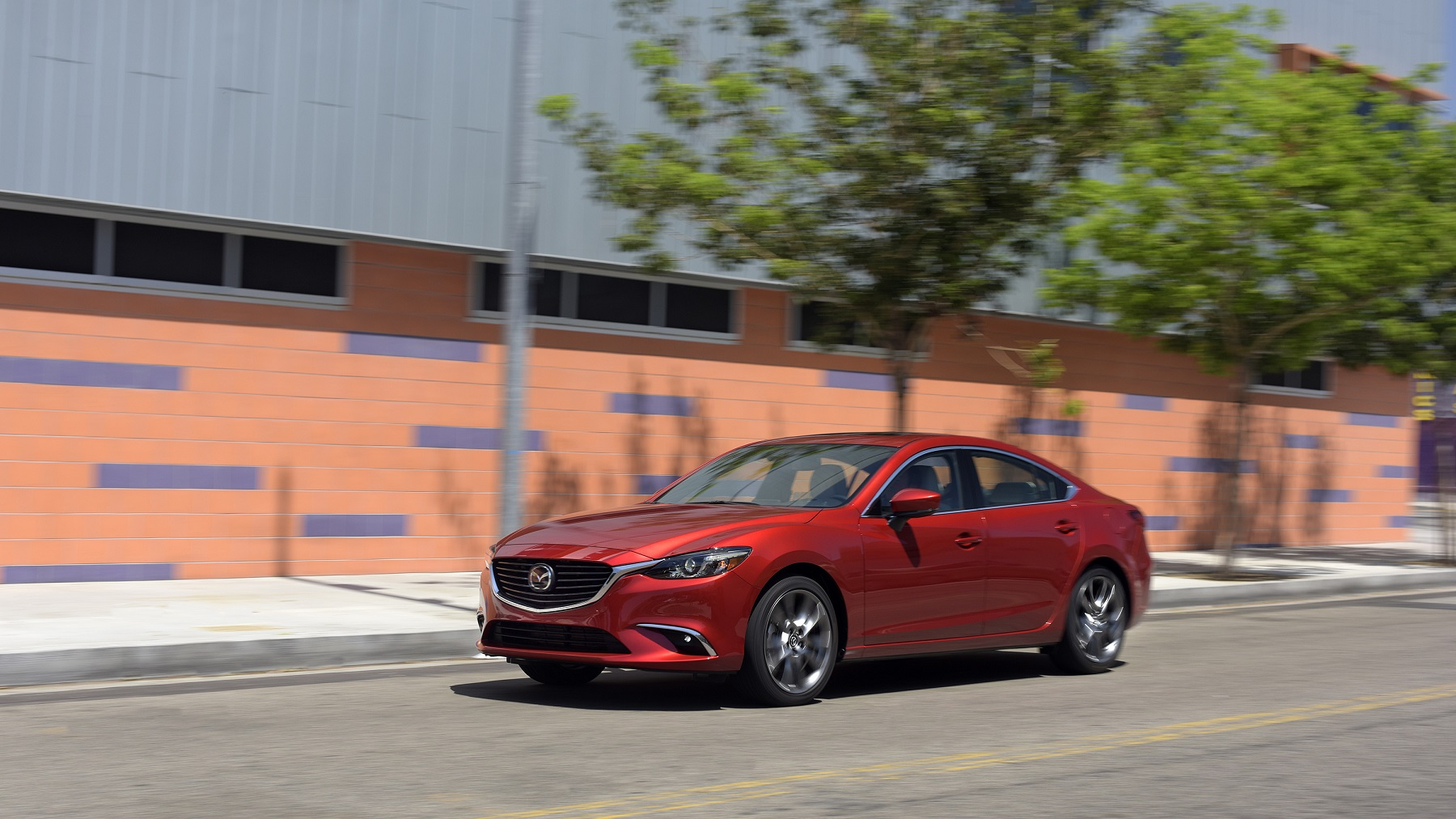 Manufacturer photo: 2017 Mazda6 models come equipped with a SKYACTIV-G 2.5-liter engine and feature added sound insulation improvements throughout their interiors and door sealing
