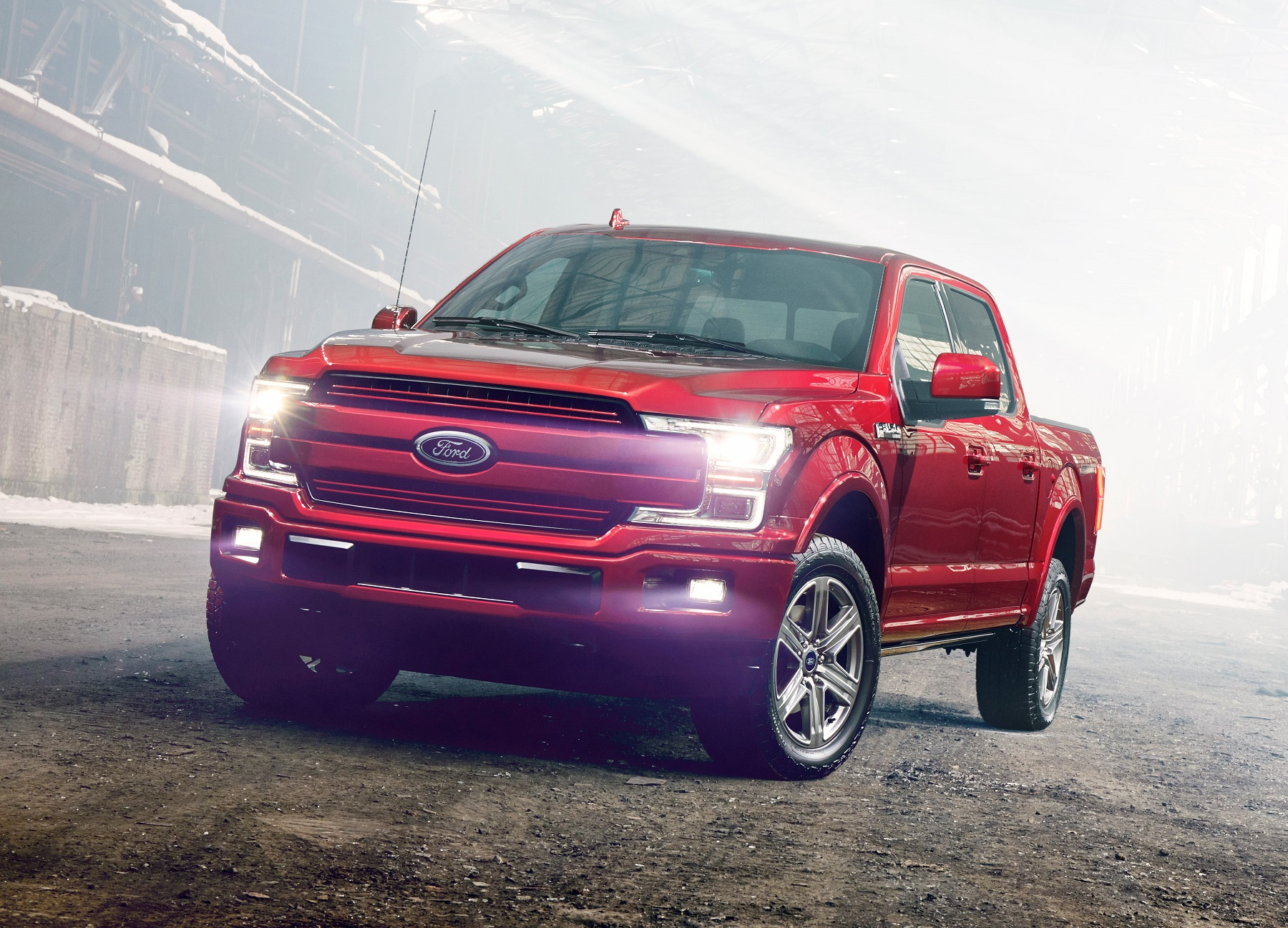 2018 Ford F 150 First Time Diesel Engine Offering Truck