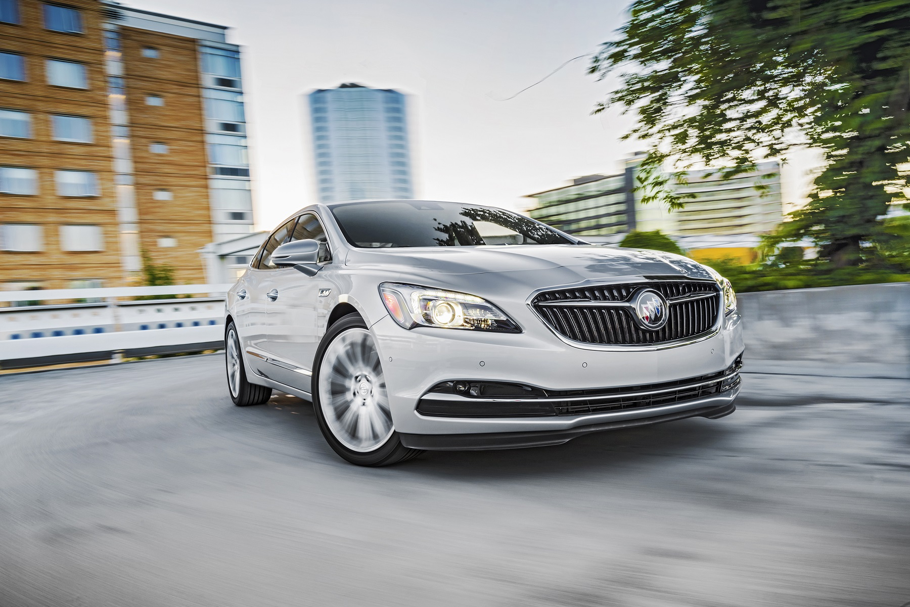 Manufacturer photo: The all-new 2017 LaCrosse introduces the new face of Buick