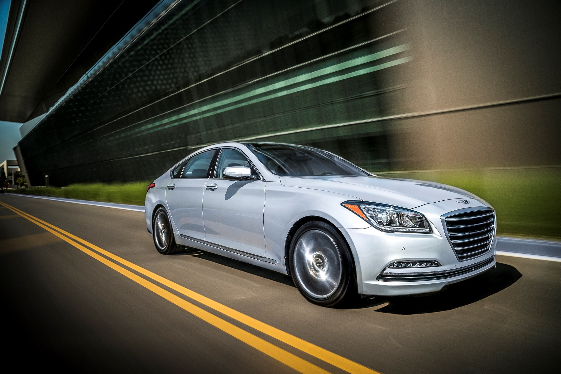 Manufacturer photo: The 2017 Genesis G80 delivers an unprecedented combination of refined performance, human-focused technology and segment-leading safety features