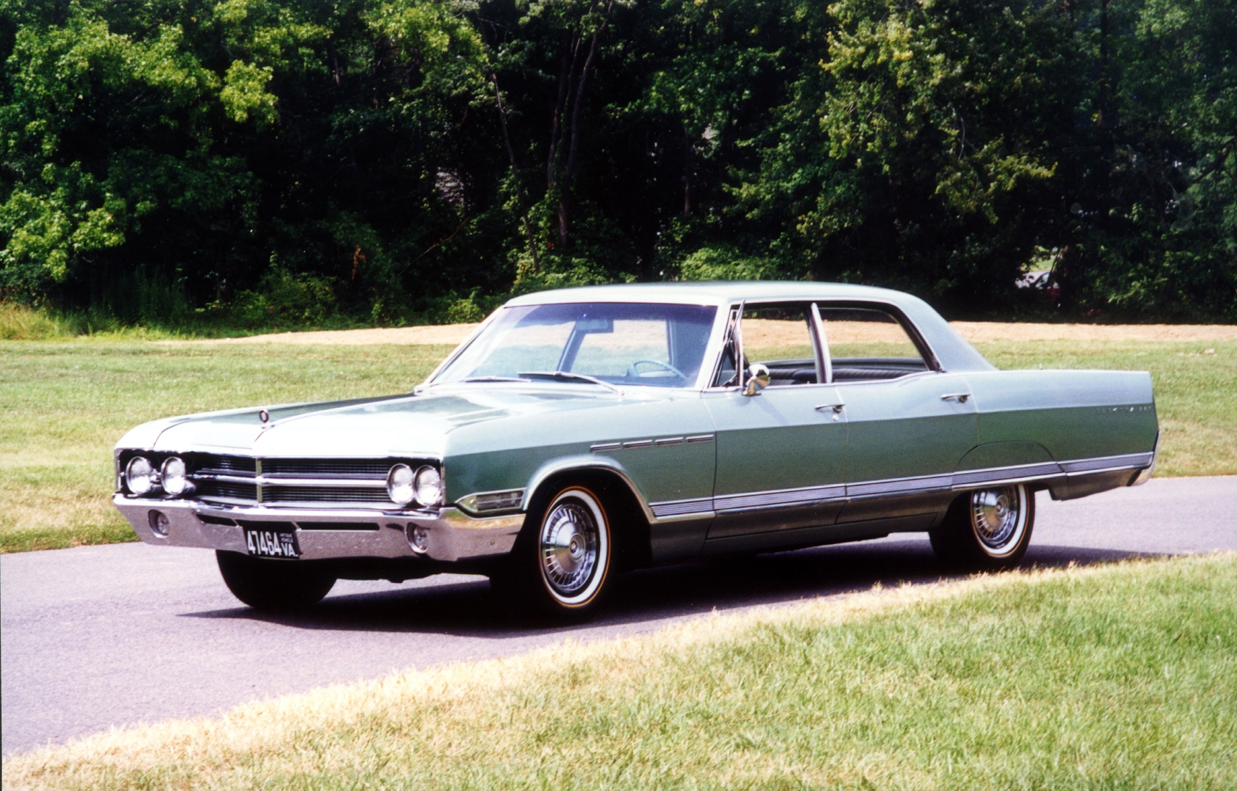 They looked at numerous cars before narrowing the search to a 1965 thunderbird and the 1965 buick electra 225