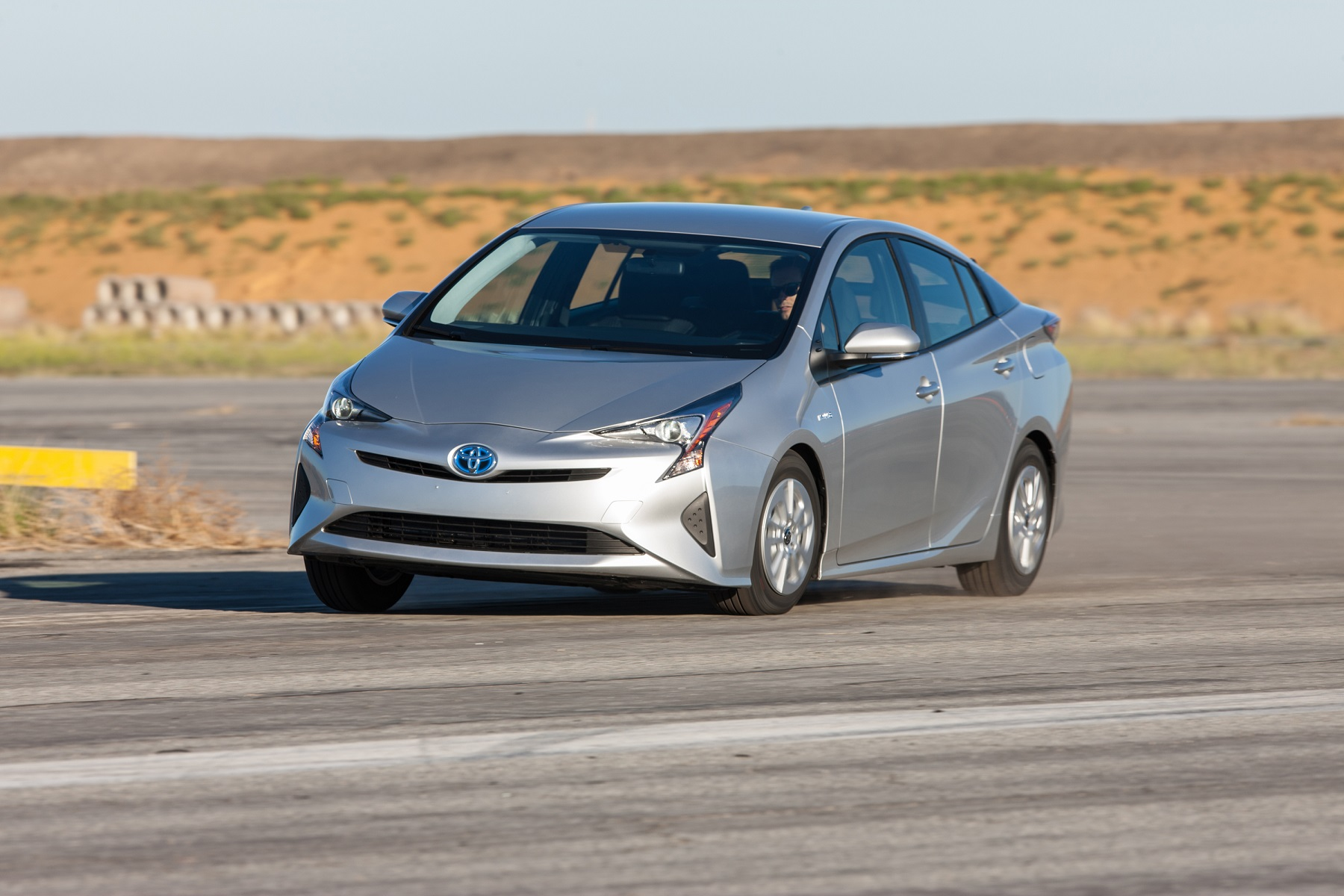 Manufacturer photo: The Prius liftback is one of eight Toyota hybrid models offered for 2017