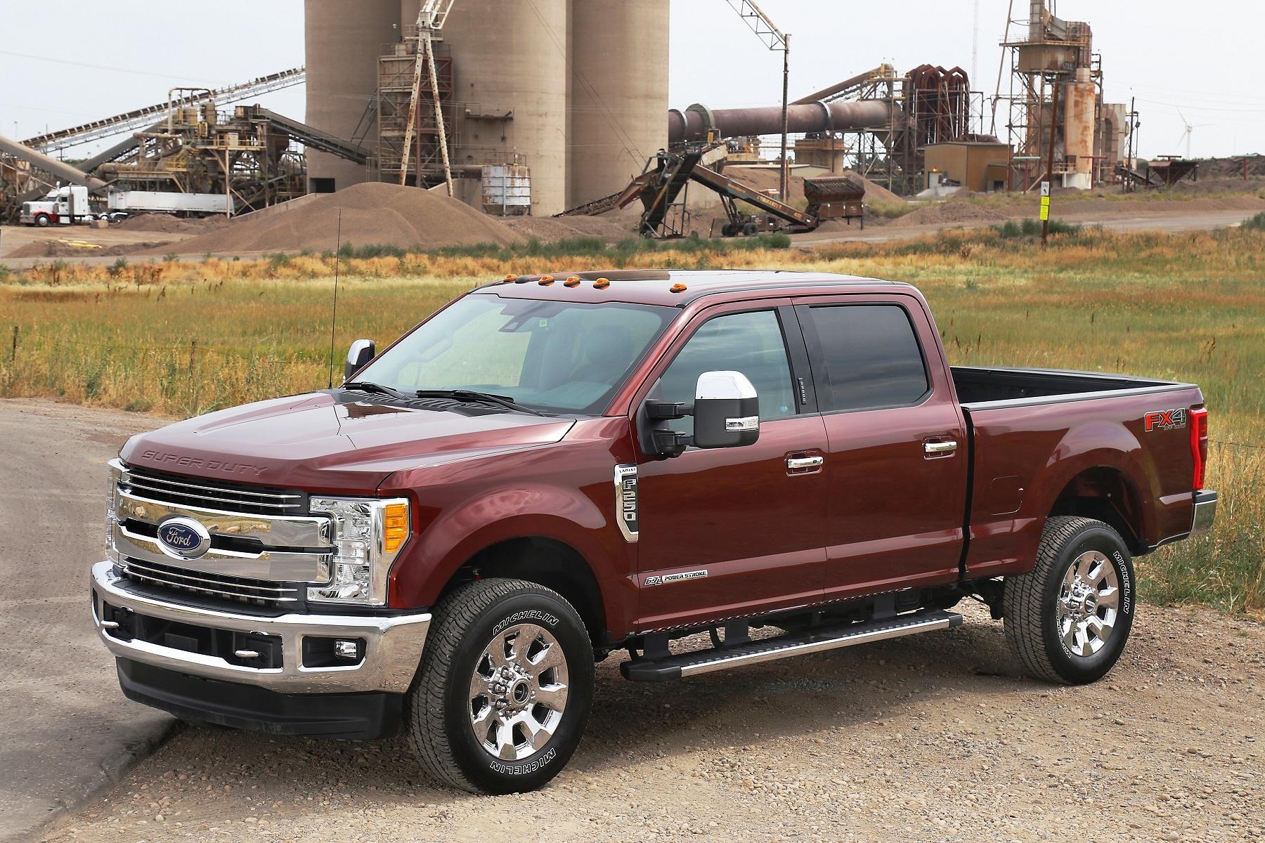 Ford F 250 Buyers Want Big Luxury in 2017 Trucks Truck Talk