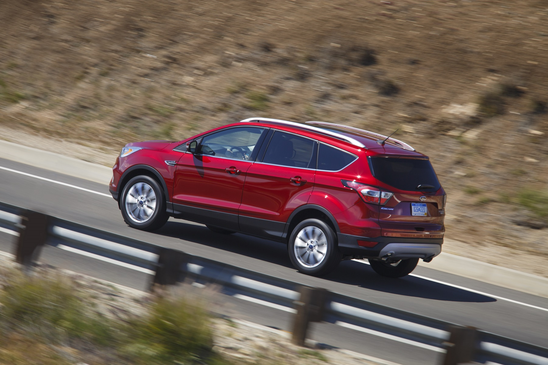 Manufacturer photo: The Ford Escape is significantly updated for model year 2017 with more of what Escape customers said they wanted -- the latest driver-assist technologies, connectivity and two new fun-to-drive and efficient EcoBoost engines