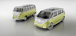 The VW Bus is Back -- and It's Electric