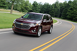 2018 Chevy Traverse: Updated for Families and Friends