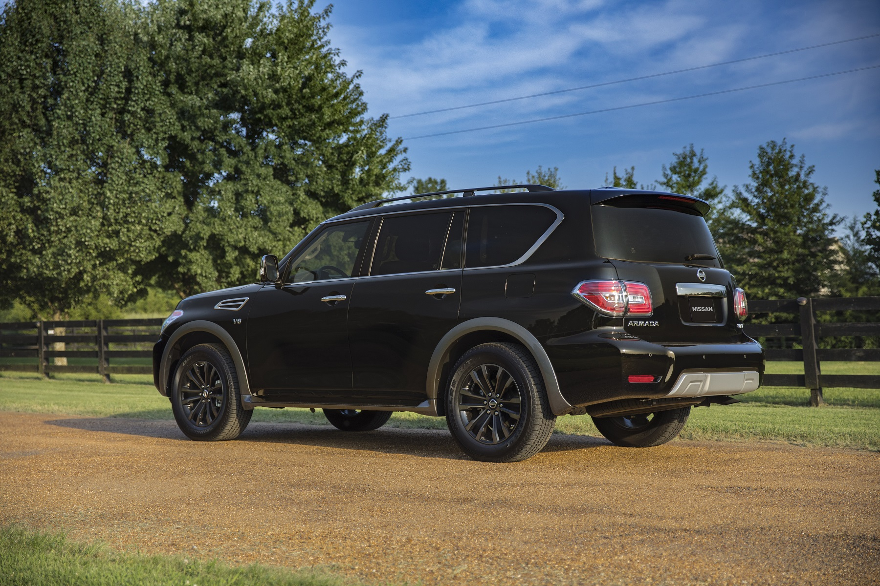 2018 Nissan Armada: Off-Road Ready, Big V-8 Power - Get Off the Road
