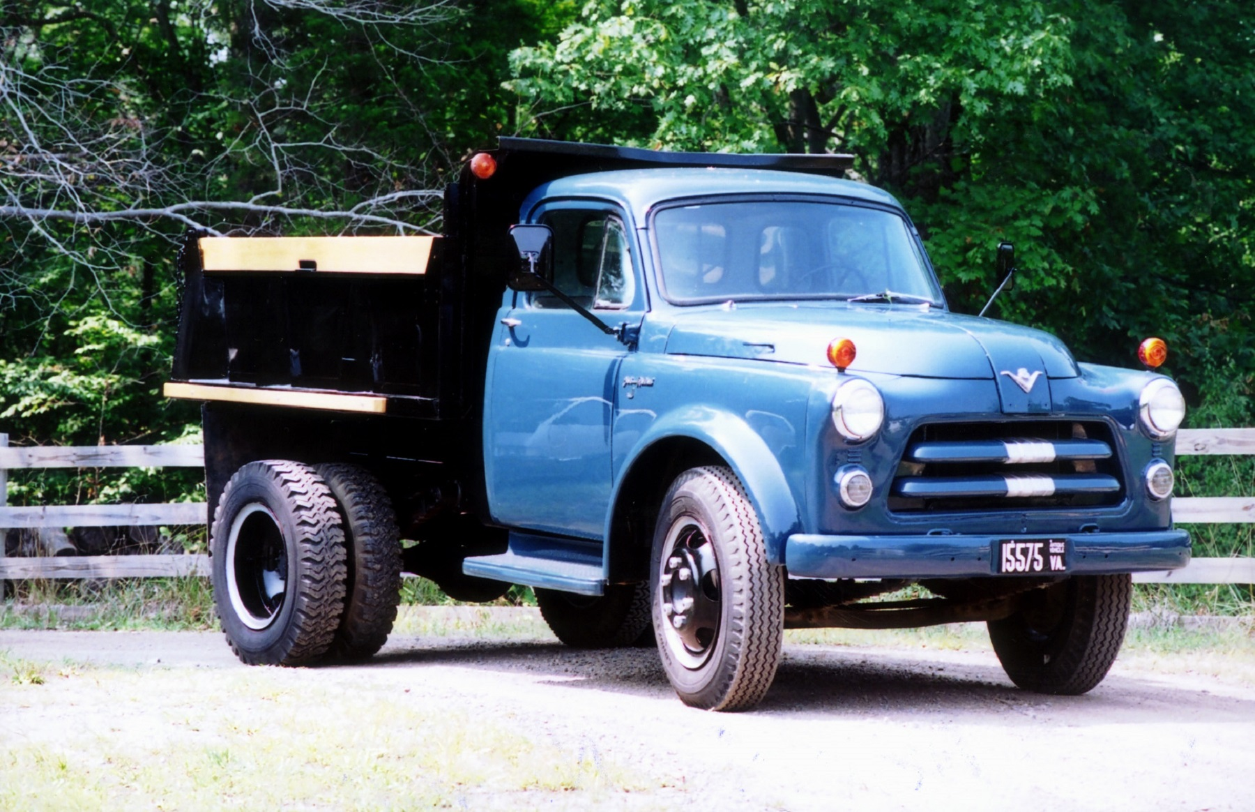 1954 Dodge Equipped With Desirable Hemi V 8 Classic Classics 1950s Cars Johnson Recalls The Day He Watched Delivery Of A Brand New Truck To Neighbor Pickup Was Fifth Wheel And