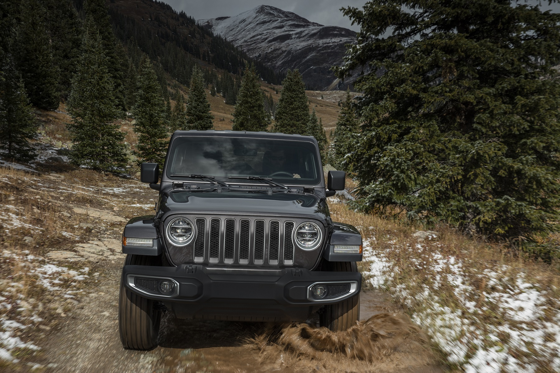 Manufacturer photo: The 2018 Jeep Wrangler delivers off-road capability with legendary four-wheel drive