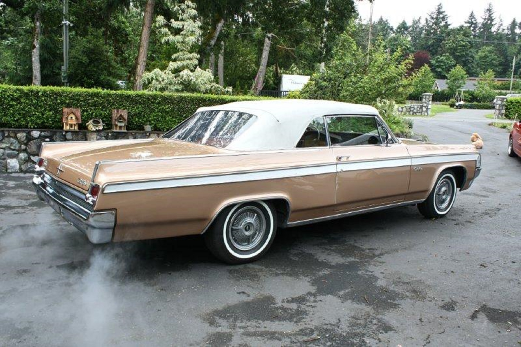 Isted Equipment Includes Steering Brakes Windows Antenna Convertible Top Front Seat And Trunk Release It Also Has A Wonderbar Radio With