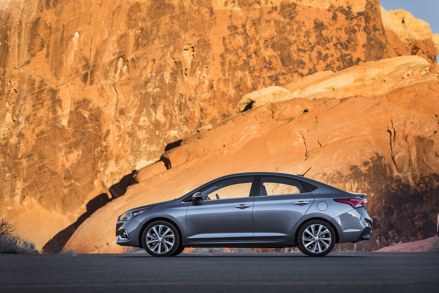 Manufacturer photo: The all-new 2018 Accent builds on the strengths of its predecessors with Hyundai's modern engineering prowess