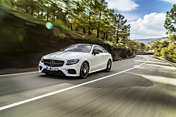Mercedes-Benz E400: Beauty of the Red Carpet and Roadway