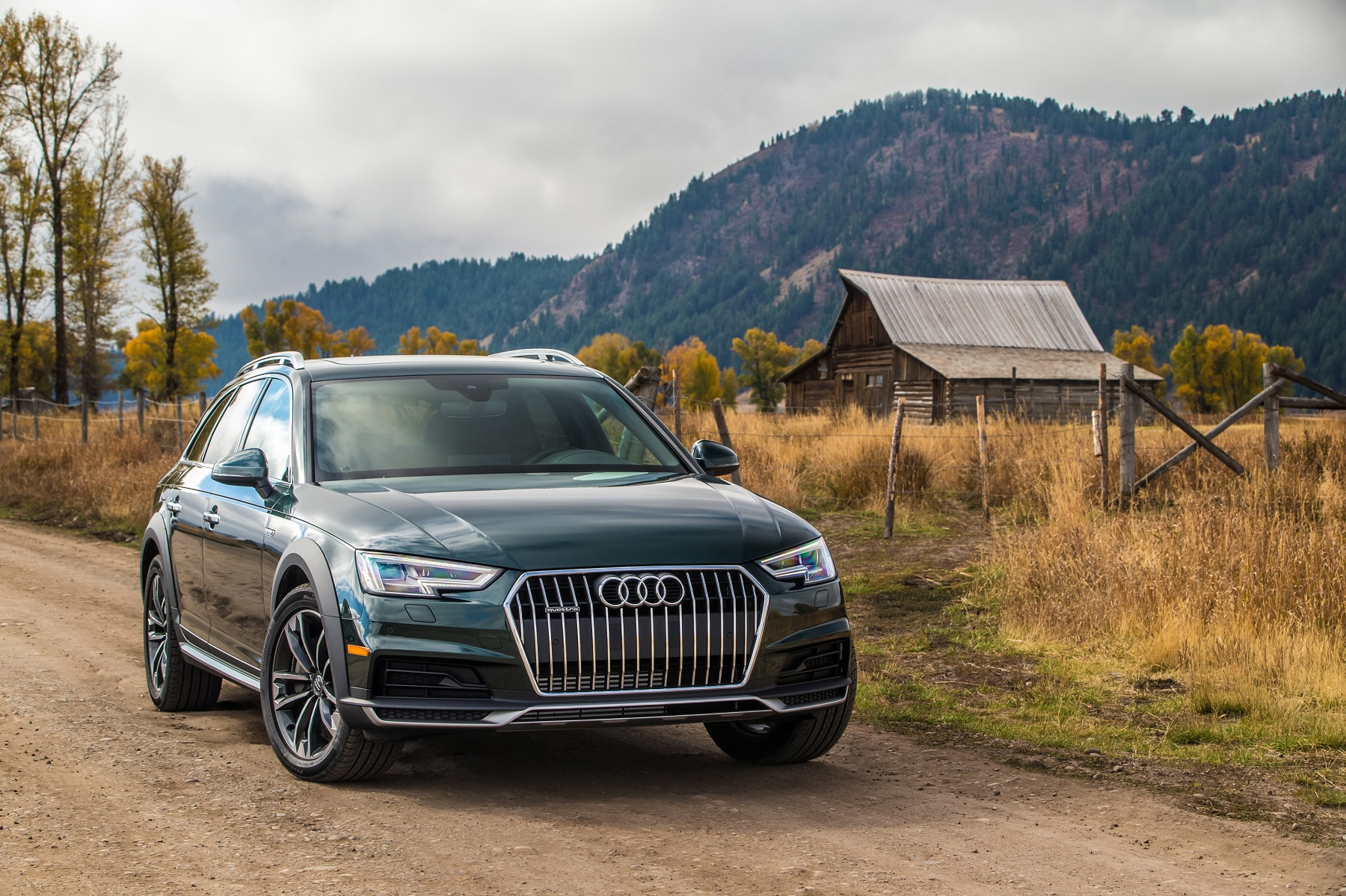 Audi A4 Allroad Luxury Ready For Some Off Roading Get Off The