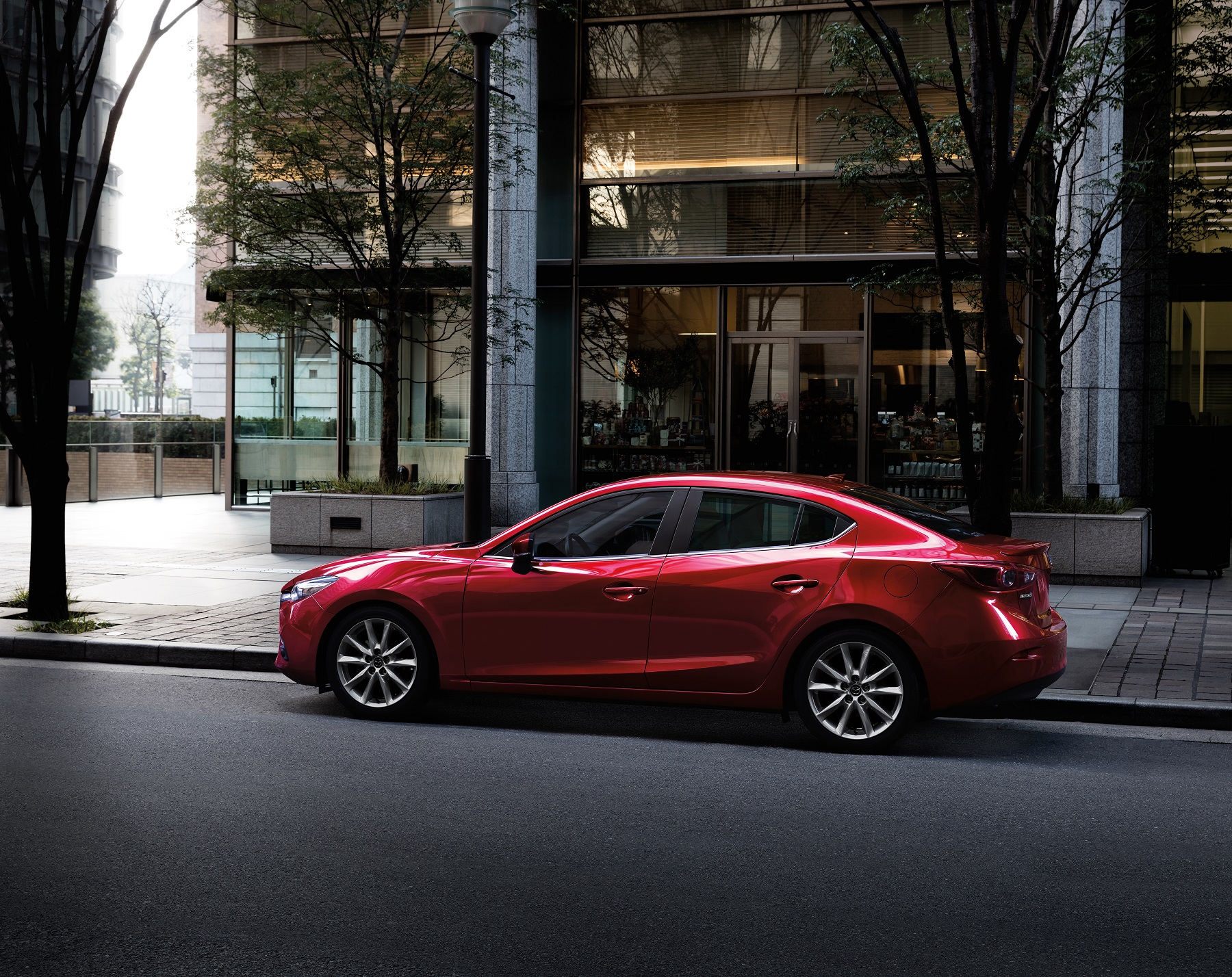 Manufacturer photo: Mazda3's combination of craftsmanship, quality and uncommonly good driving dynamics place it apart from its competition in the crowded compact segment
