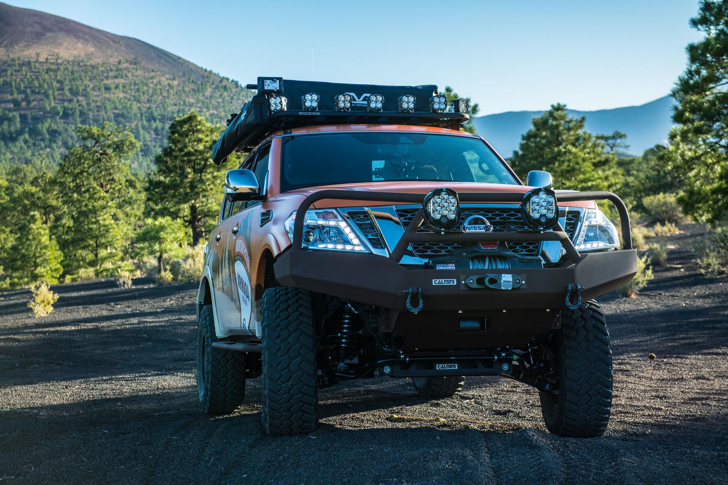 Nissan Armada Mountain Patrol The Future Of Suv Camping