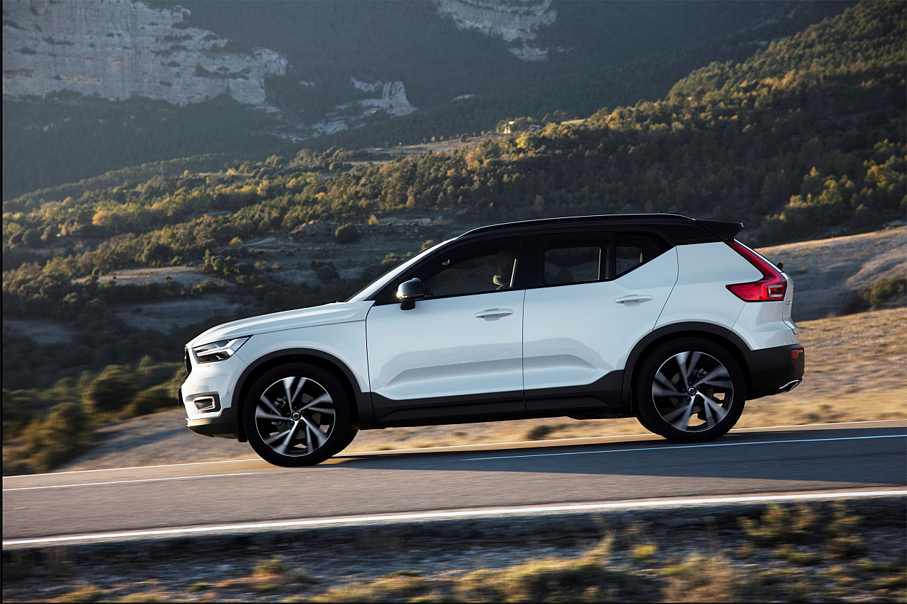 2019 Volvo XC40 Youthful Compact Crossover
