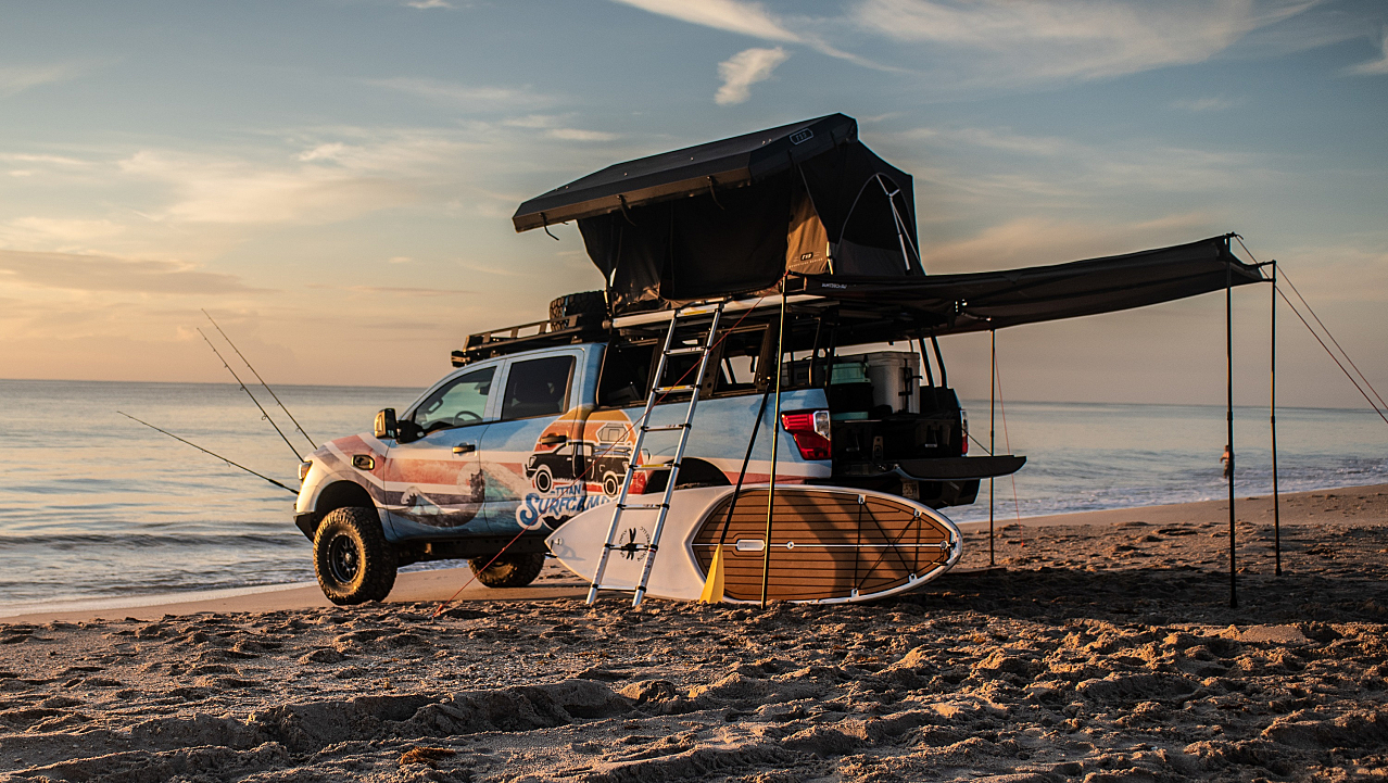 Nissan Titan Surfcamp: Gone Fishing Truckers