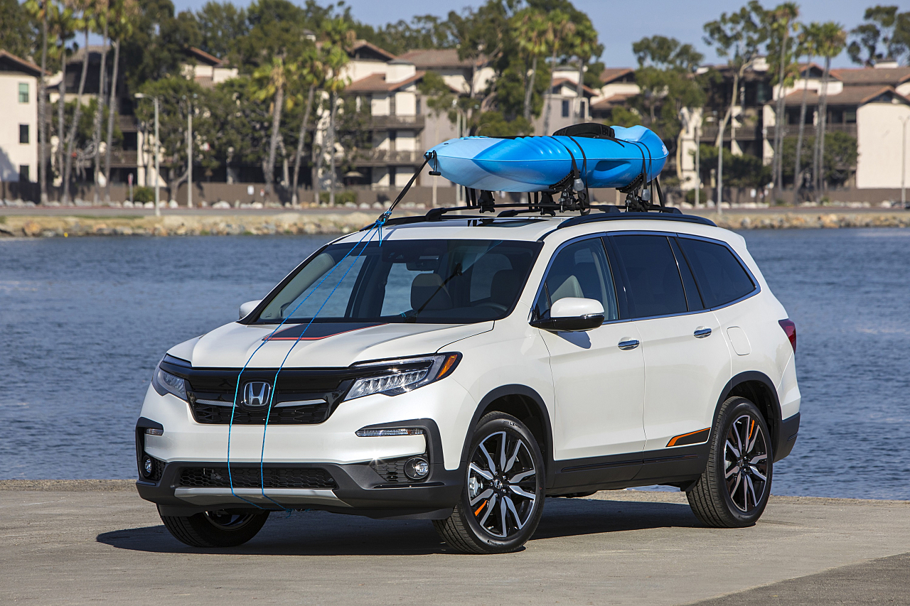 Honda Pilot: More Rugged, Aggressive for 2019