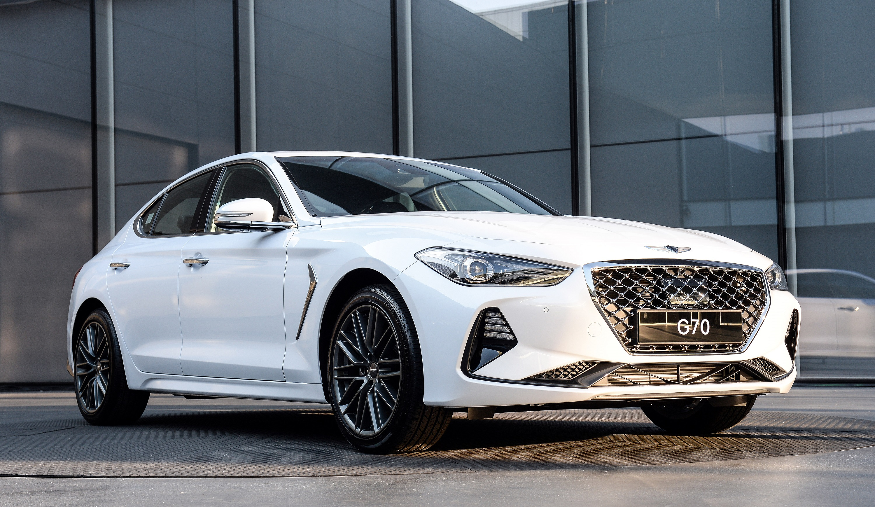 Genesis G70 All New 2019 Luxury Compact Sedan New On Wheels