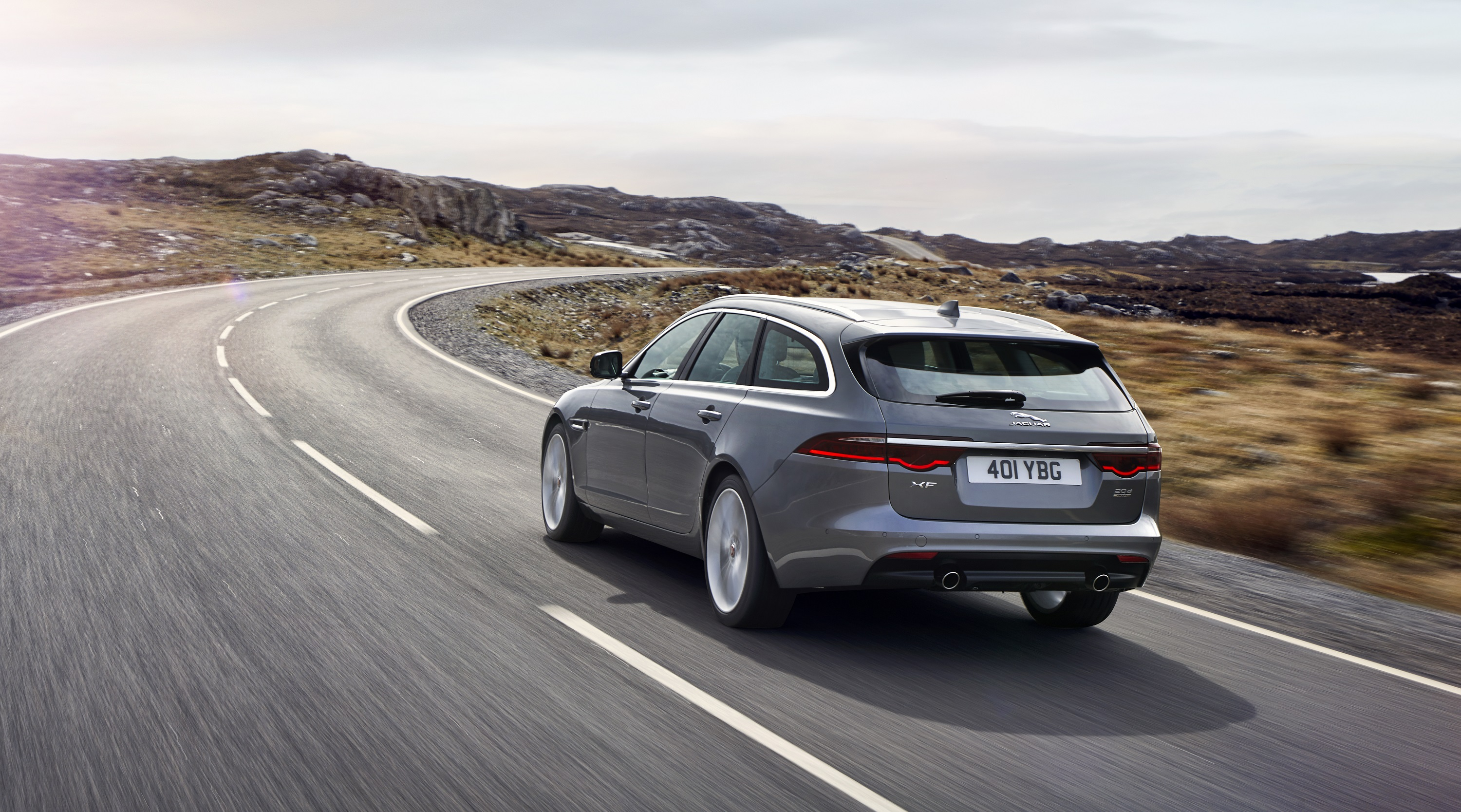 Manufacturer photo: The new 2018 XF Sportbrake is a premium wagon a compelling combination of design, driving dynamics and advanced technologies that make it a standout performer