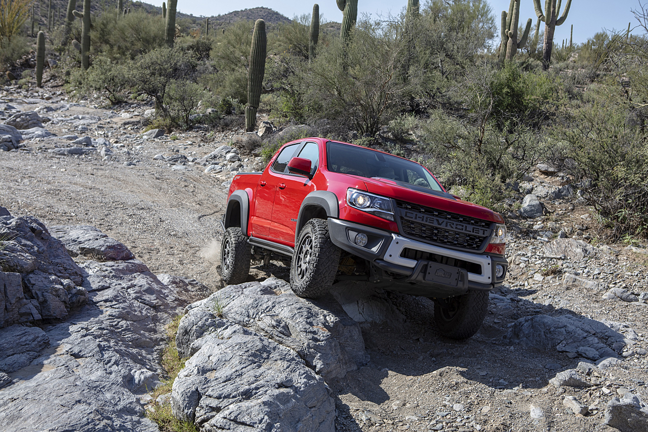 Chevy Colorado ZR2 Bison: For Hard-Charging Enthusiasts