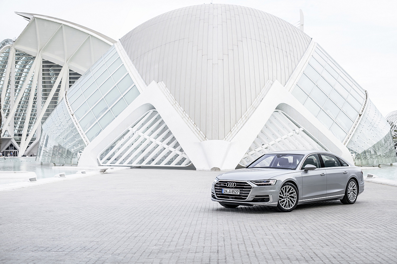 Audi Autonomous Driving Partners with Silicon Valley