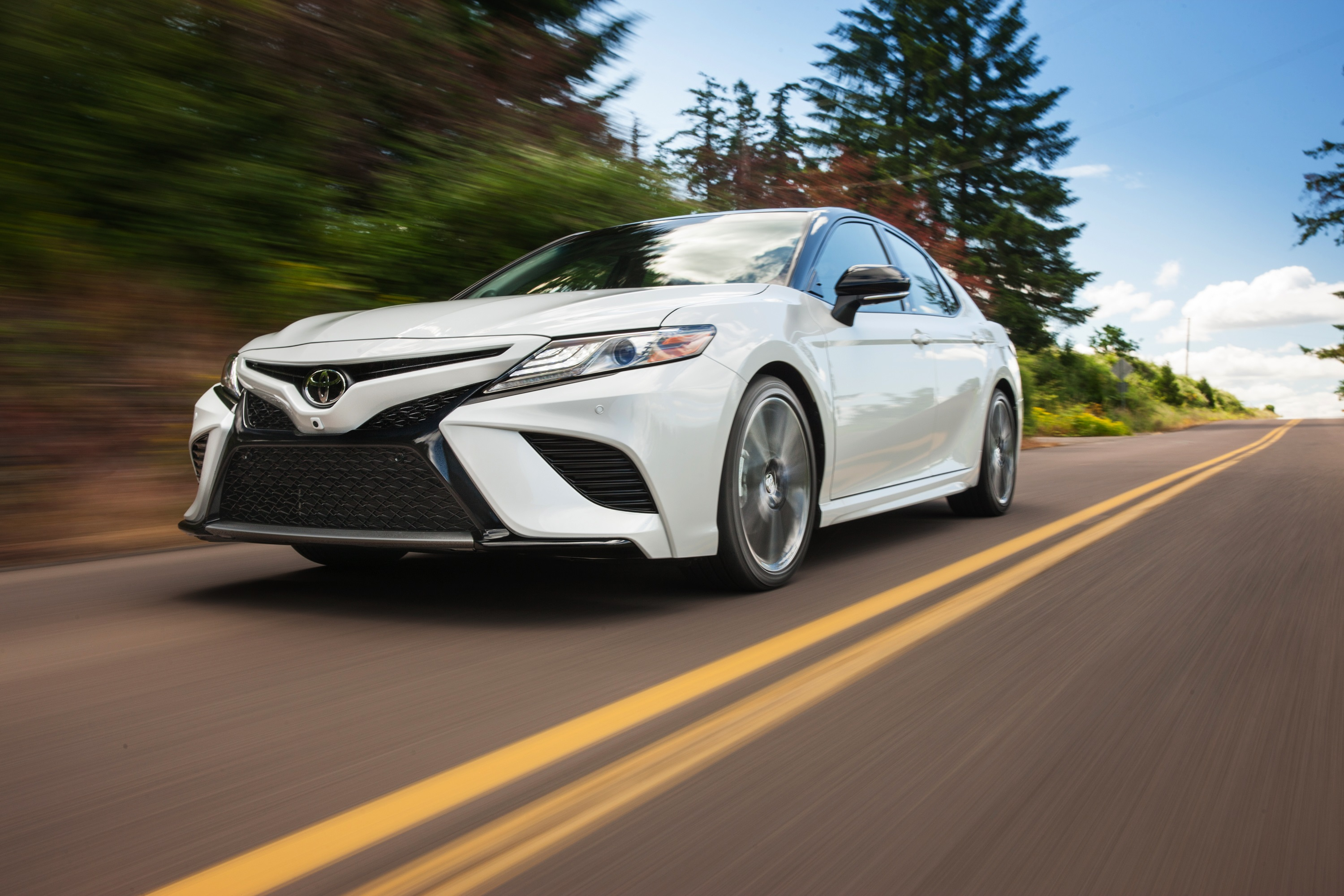 Manufacturer photo: The Toyota Camry is a proven, dependable and safe car with exciting and emotional character, thanks to its much newfound performance and style