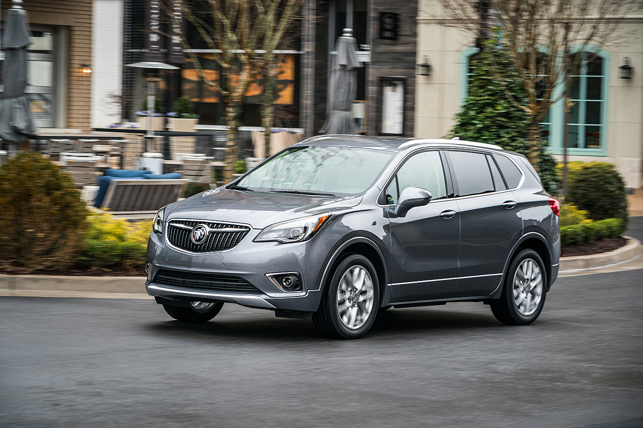 2019 Buick Envision: Comfortable Luxury