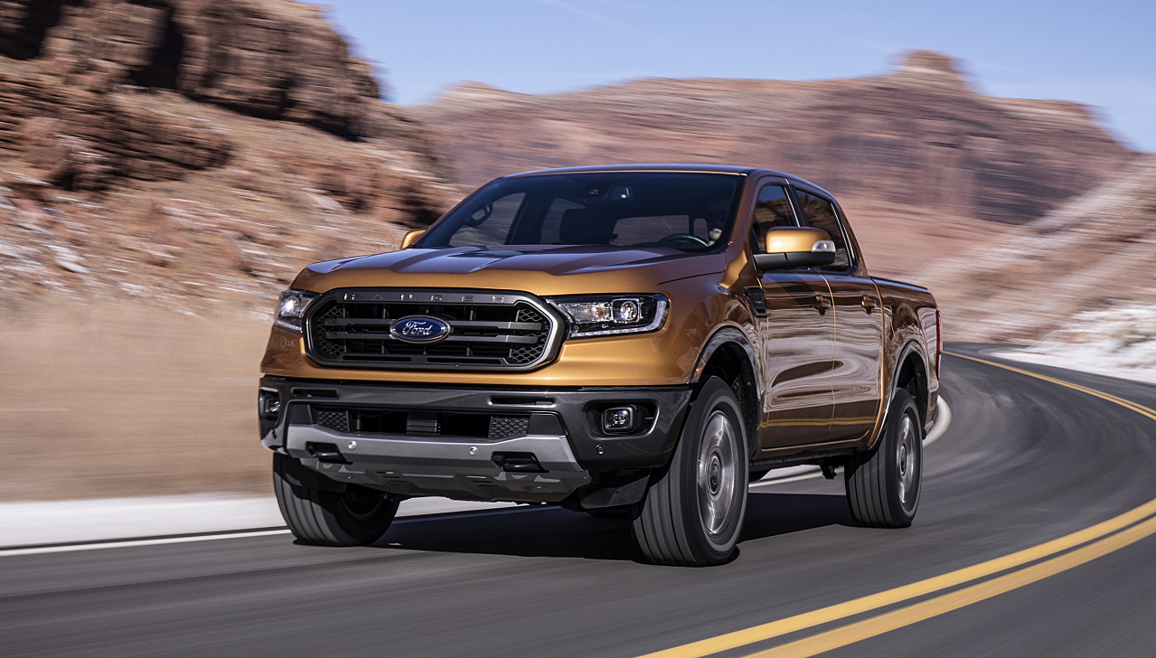 Ford Ranger: From Compact Truck to All-New Midsize