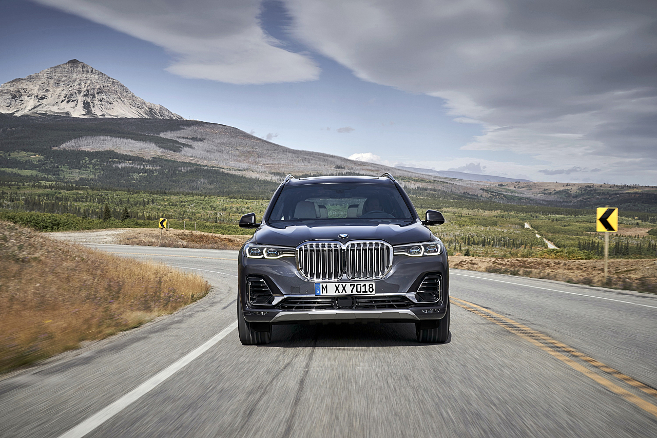 BMW Launches Stellar First Ever X7