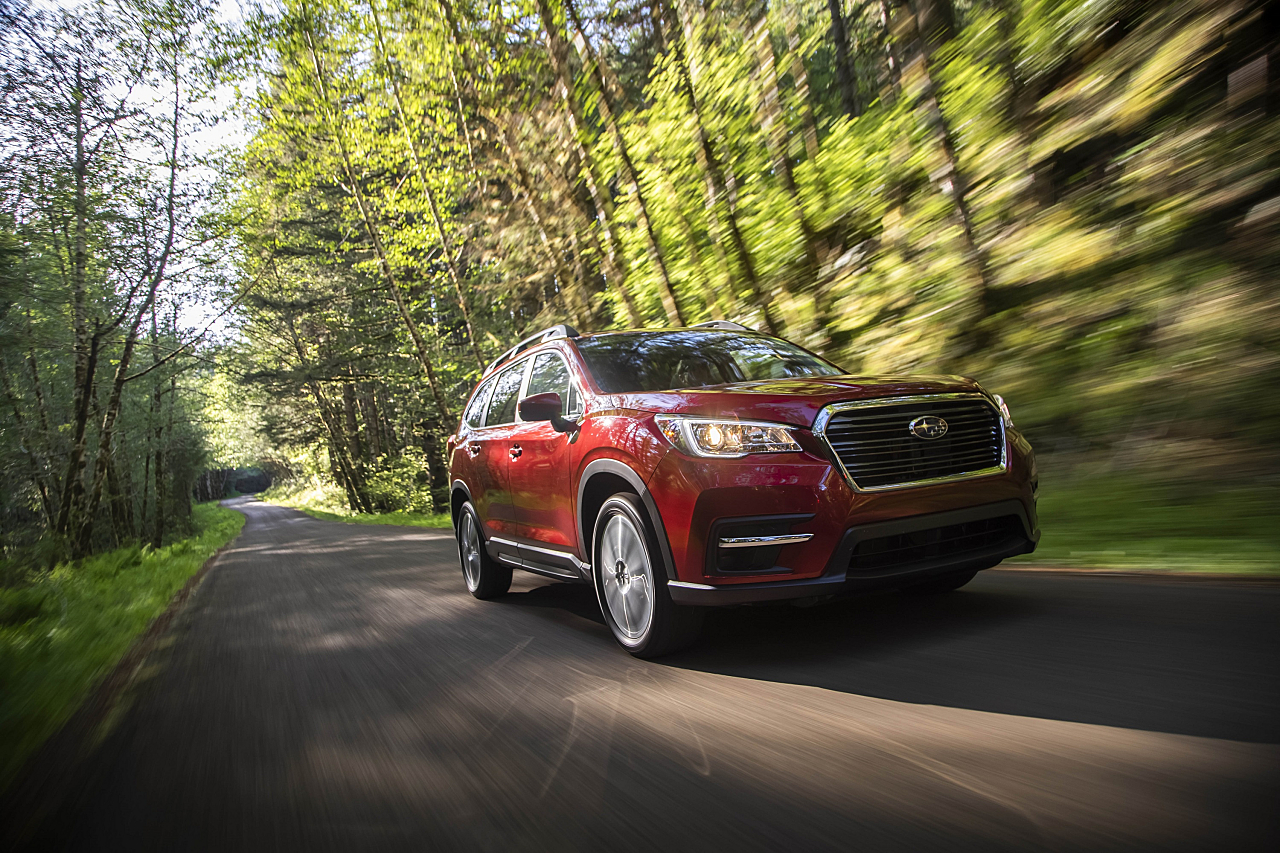 Subaru Ascent: Three-Row SUV, Car-Like Ride