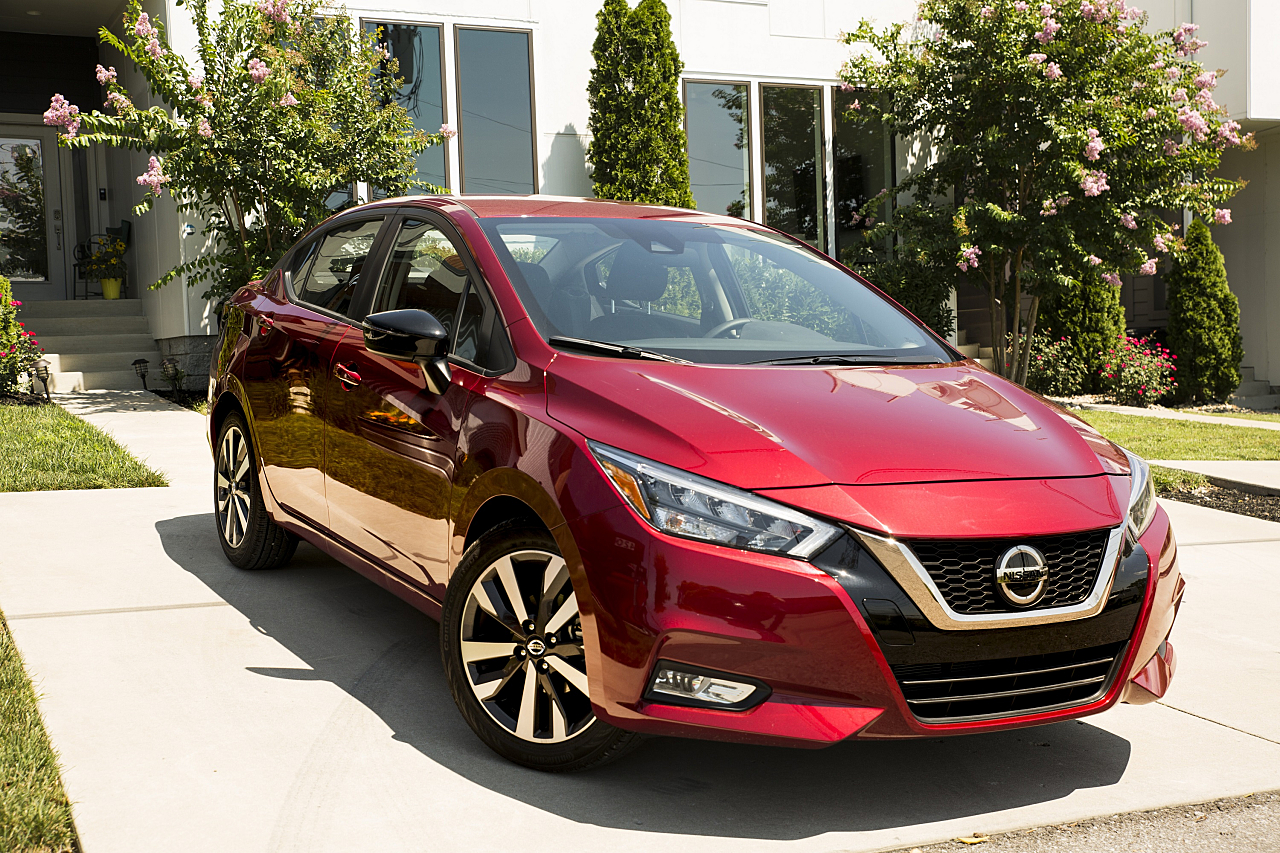 2020 Nissan Versa SV: Smart Value