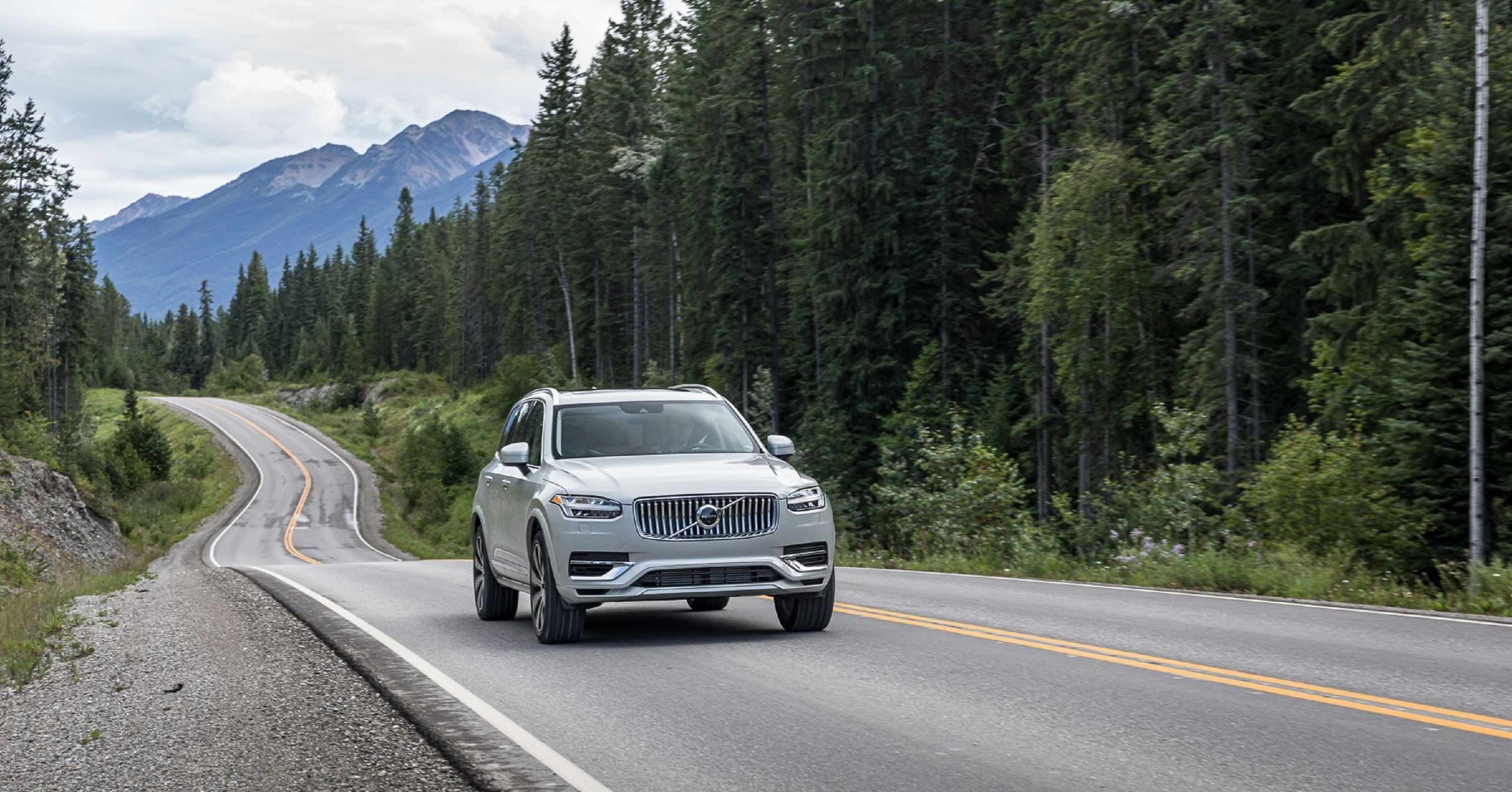 Manufacturer photo: The XC90 is Volvo's flagship SUV.It carries the proud and confident face of Volvo's design language, along with classic Volvo styling cues