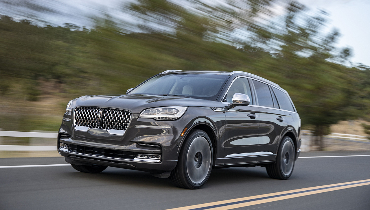Relax Now: Refined 2020 Lincoln Aviator