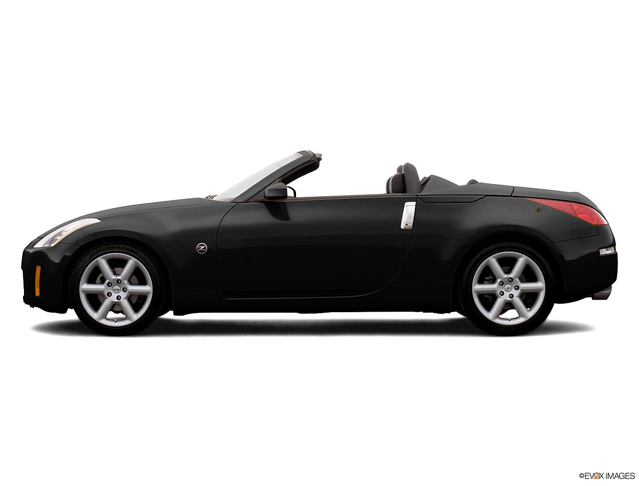 Nissan 350z Convertible Black