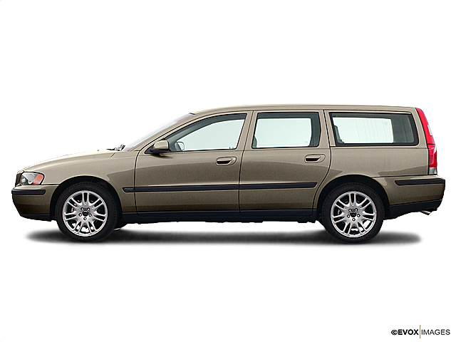 Image result for volvo v70 2005 gold