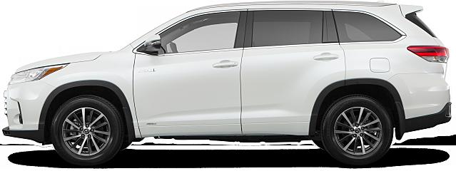 2017 Toyota Highlander Hybrid Awd Xle 4dr Suv