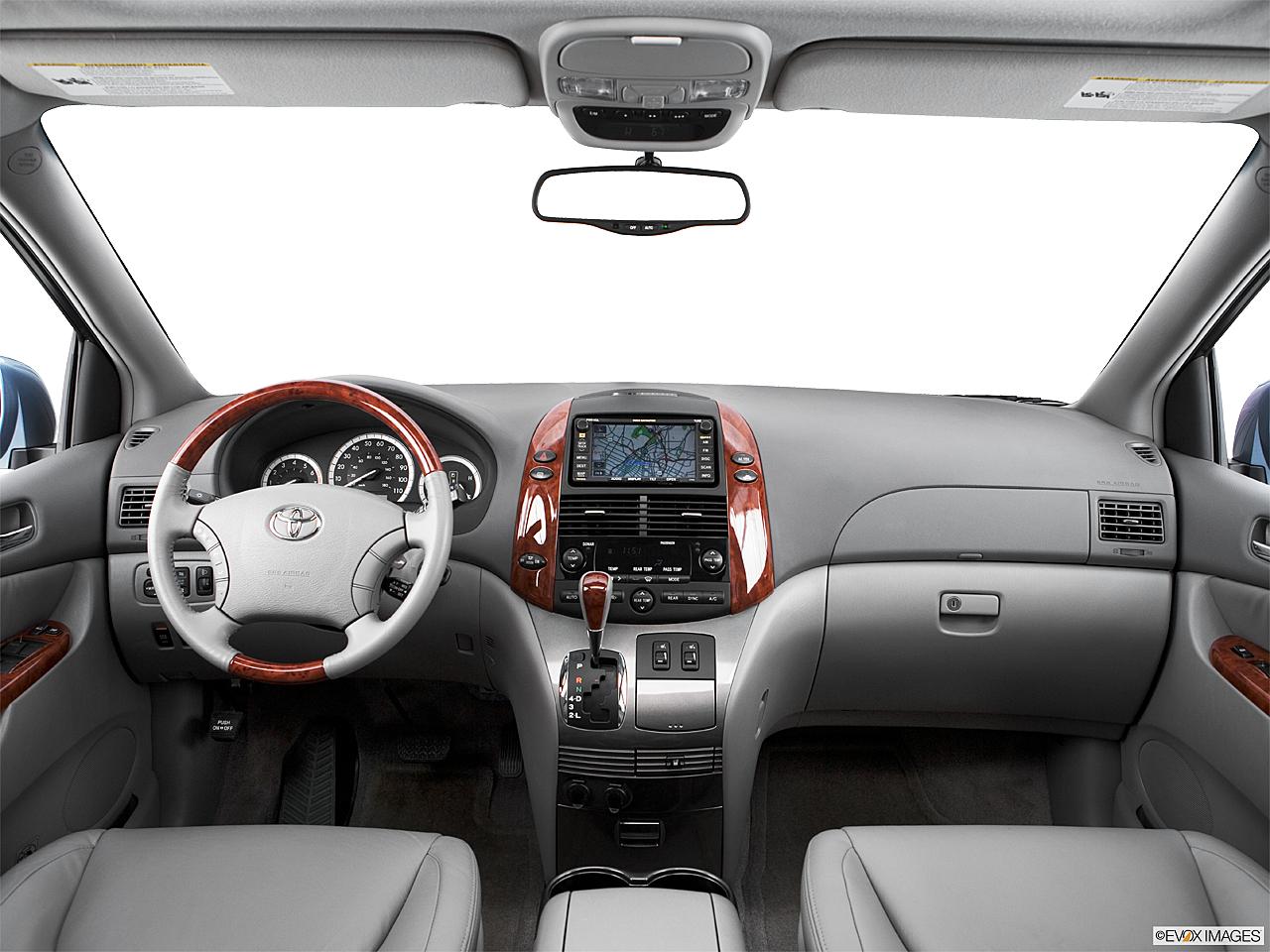 2005 Toyota Sienna XLE Limited, Centered Wide Dash Shot