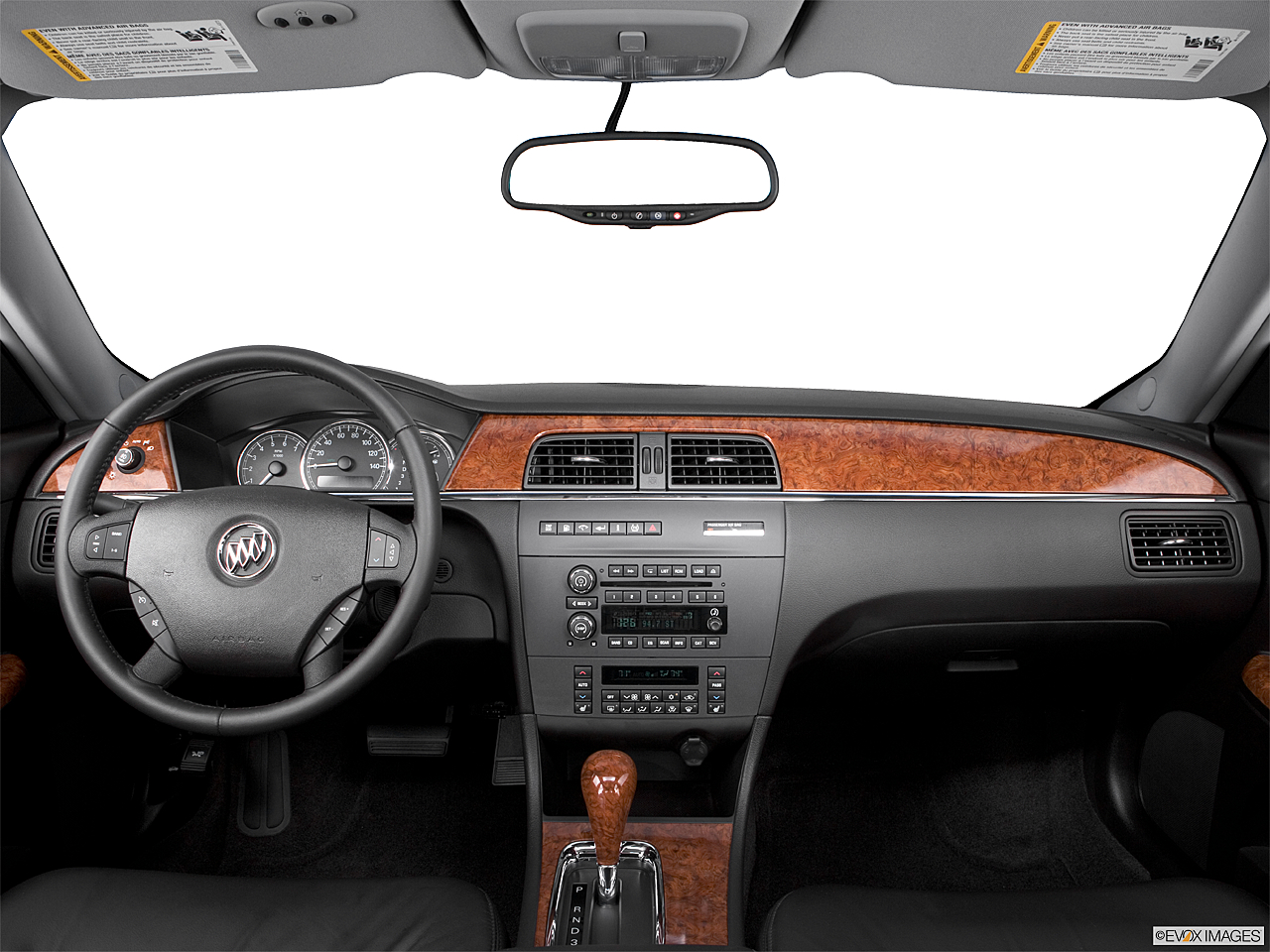 2006 Buick LaCrosse CXS, centered wide dash shot
