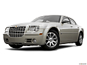 2006 Chrysler 300 C, front angle view, low wide perspective.