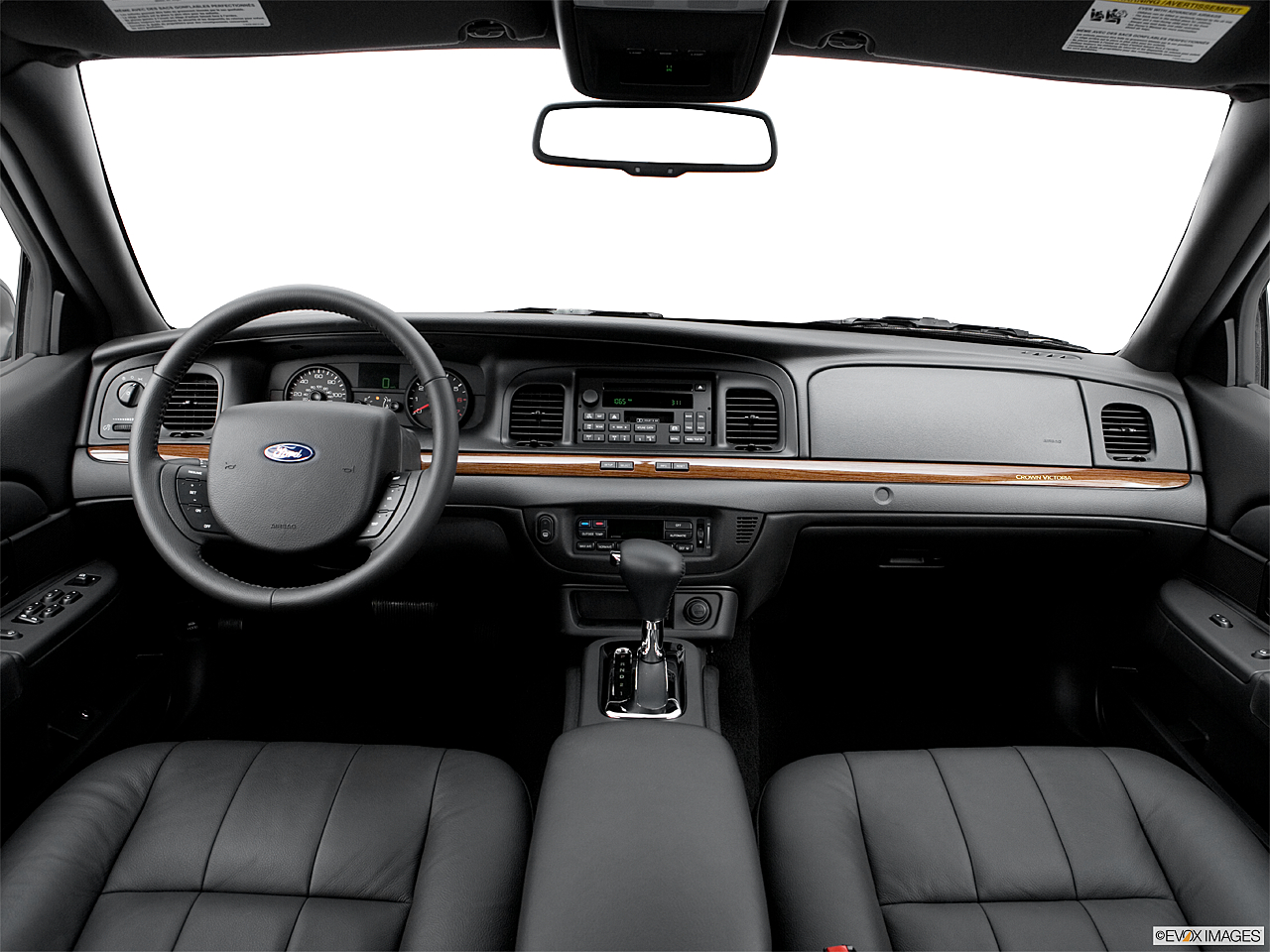 Ford Crown Victoria Lx Sport Centered Wide Dash Shot